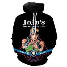 JoJo's Bizarre Adventure Hoodies